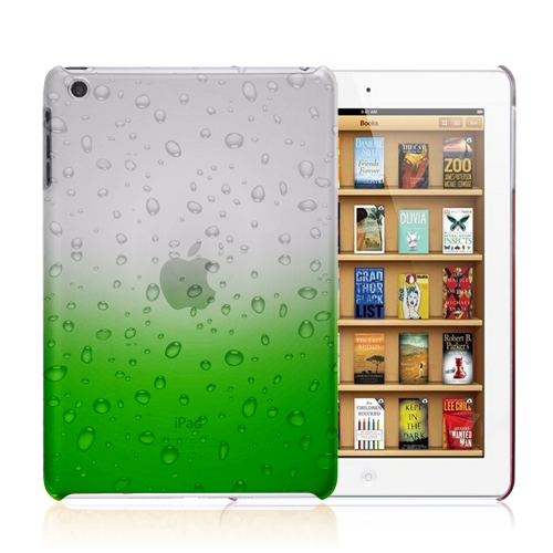 3d crystal rain drop design hard case cover for apple ipad for Architecture 3d ipad